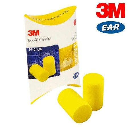EAR Classic oordopje | 25 paar | SNR 28dB | Gele oordopjes