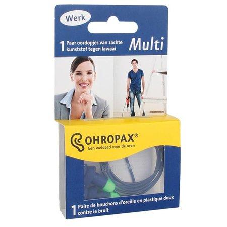 Ohropax Multi gehoorbescherming met koordje | Hoge demping