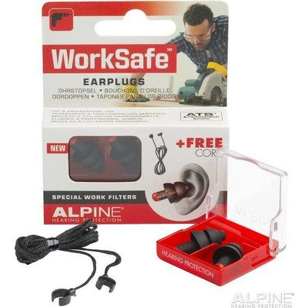 Alpine Worksafe Oordopjes | Gehoorbescherming werk