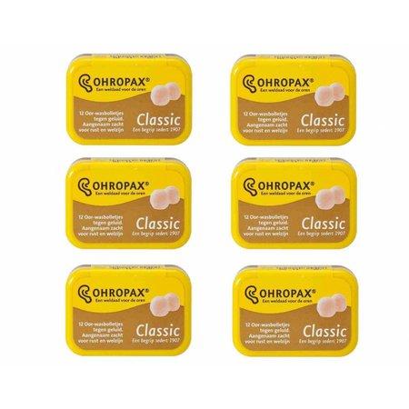 Ohropax Classic voordeelverpakking | Ideaal voor het slapen