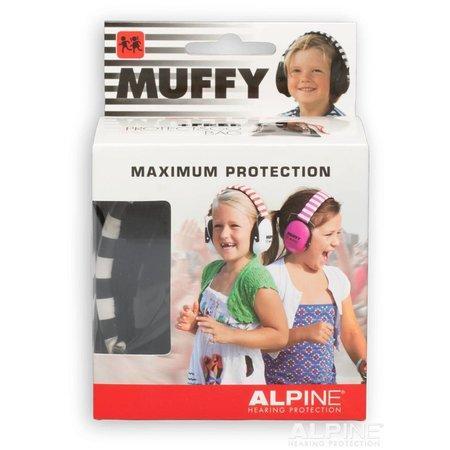 Alpine Muffy kinderoorkap zwart, verbetert de concentratie