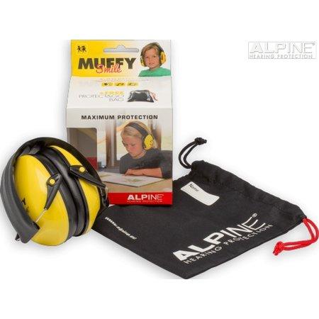 Alpine Muffy kinderoorkap Smile, de oorkap voor op school!