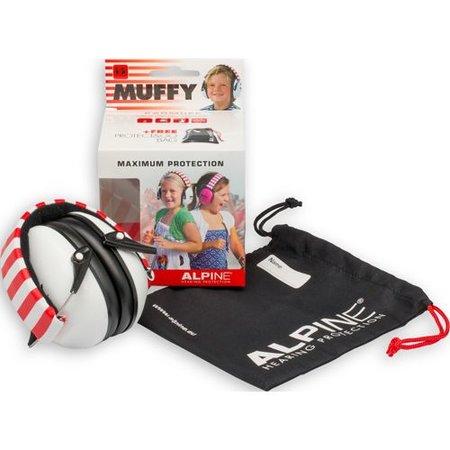 Alpine Muffy kinderoorkap wit voor beter geconcentreerd leren en lezen thuis en op school.