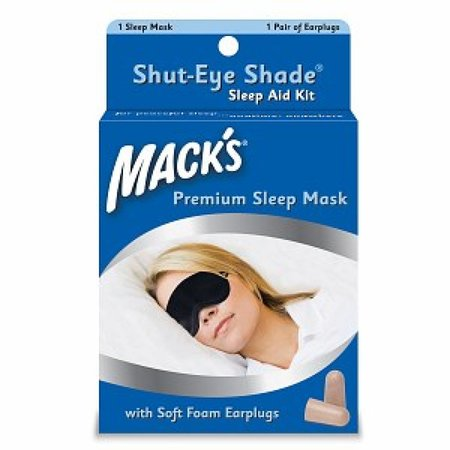 Macks Slaapmasker en oordopjes set - goede nachtrust