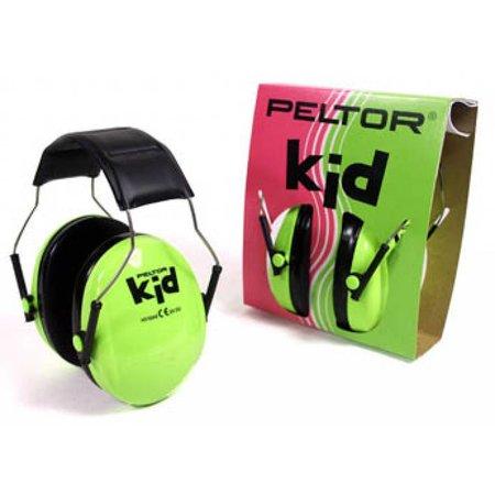 Peltor Peltor Kid groene gehoorkap voor Kinderen