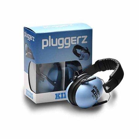 Pluggerz Kinder oorkap blauw | Beschermd tegen lawaai, verhoogd de concentratie