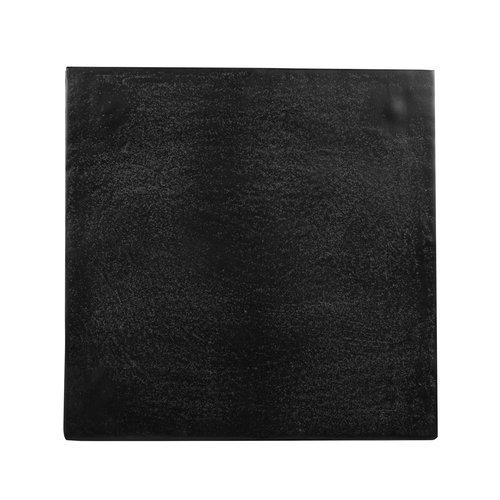 Richmond Interiors  Bijzettafel Bolder aluminium zwart (Zwart)