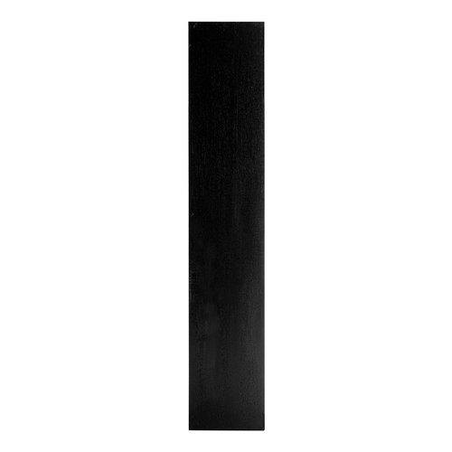 Richmond Interiors  Boekenkast Oakura 2-deuren smal (Zwart)