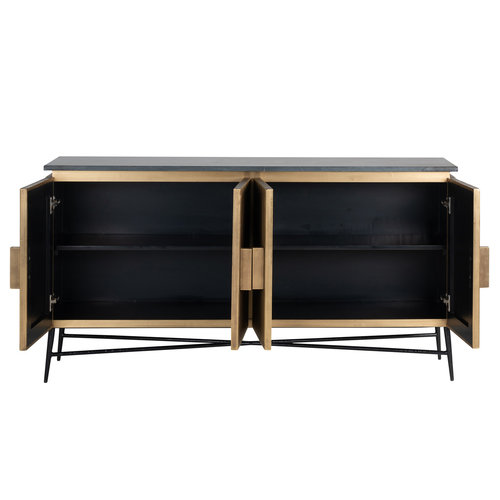 Richmond Interiors  Dressoir Ironville 4-deuren