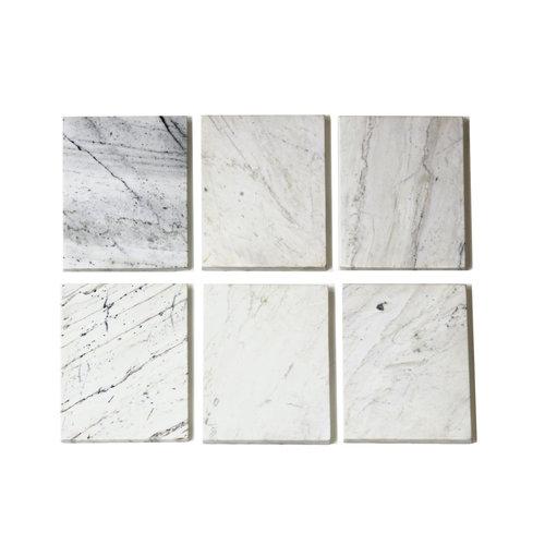 Richmond Interiors  Pilaar Lexington white set van 2 (White)