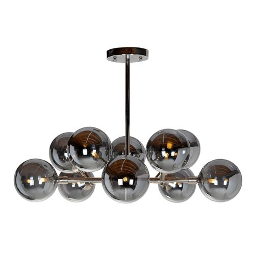Richmond Interiors  Hanglamp Riley (G9 fitting) (Zilver)