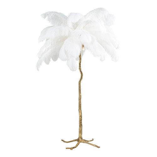 Richmond Interiors  Vloerlamp Burlesque wit (White)