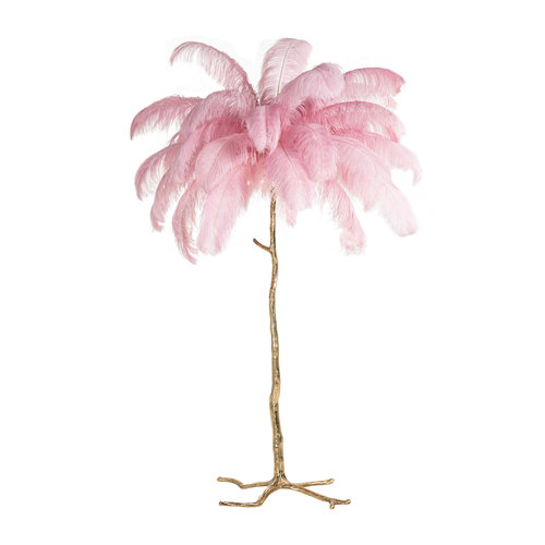 Richmond Interiors  Vloerlamp Burlesque roze (Roze)