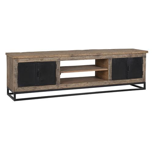 Richmond Interiors  TV-dressoir Raffles 4-deuren, gerecyceld hout