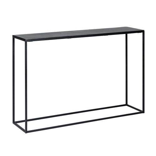 Richmond Interiors  Wandtafel Bolder aluminium zwart (Zwart)
