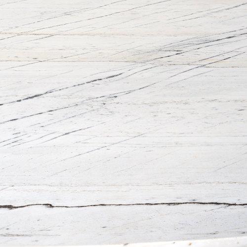 Richmond Interiors  Eettafel Lexington ovaal white 230 (White)