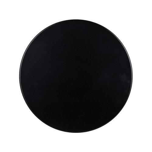 Richmond Interiors  Bijzettafel Iconic zwart 30Ø (Zwart)