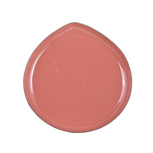 Richmond Interiors  Bijzettafel Trinity roze/grijs set van 3 (Roze)