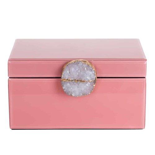 Richmond Interiors  Juwelen box Maisie roze (ZZZ-Roze)