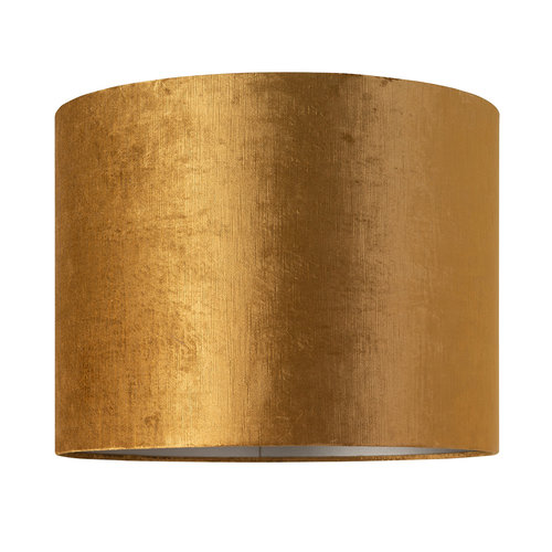 Richmond Interiors  Lampenkap Goya cilinder 50Ø, goud (Goud)