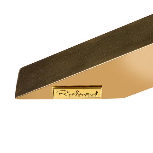 Richmond Interiors  Alleen salontafel X-poot goud (Gold)