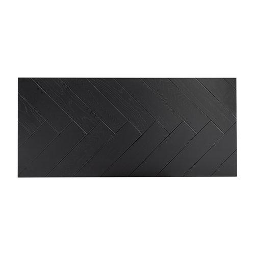 Richmond Interiors  Eettafel TOP Nalo 220 (Black)