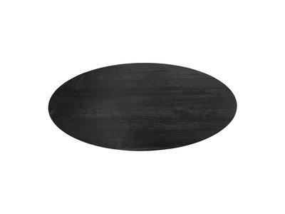 Richmond Interiors  Eettafel TOP Watson ovaal 235 (Black)