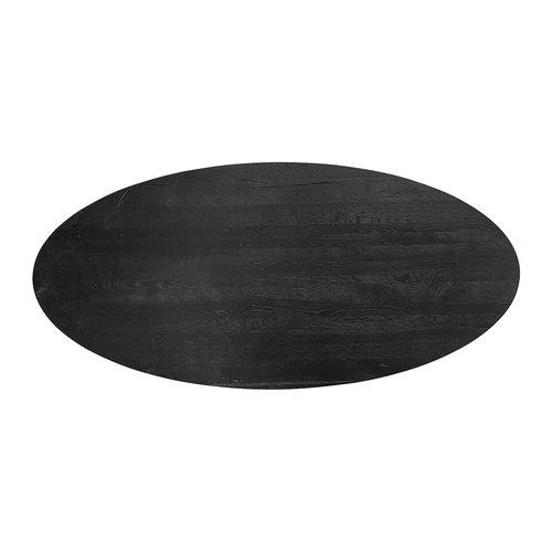 Richmond Interiors  Eettafel TOP Watson ovaal 300 (Black)