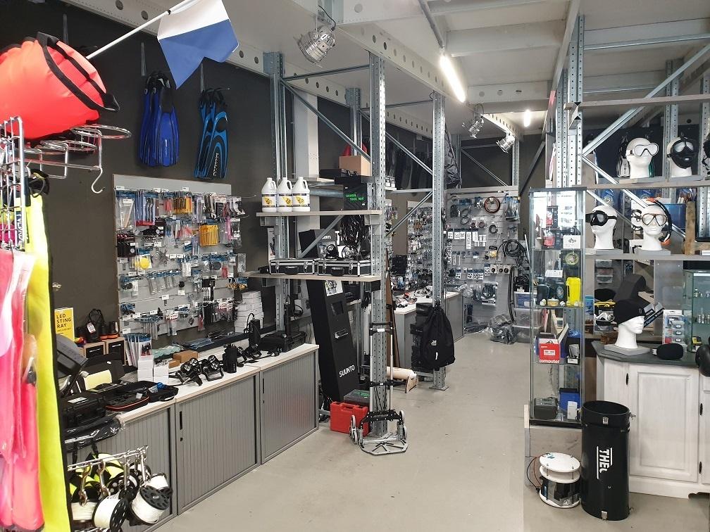 Dive shop Hilversum