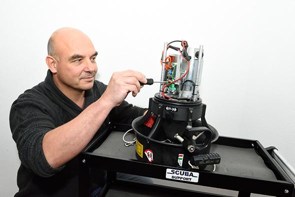 Scuba Support is gecertificeerd service center voor Suex onderwaterscooters