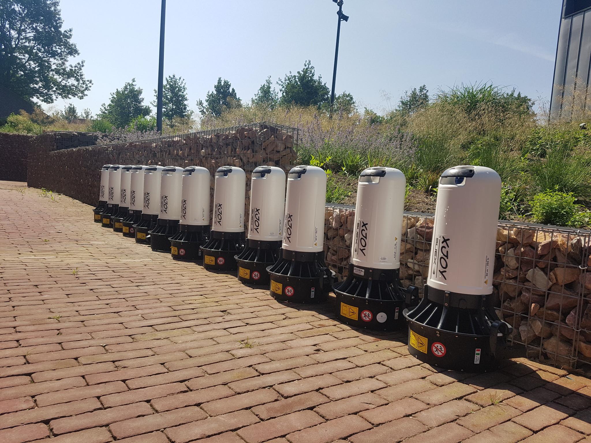 Service aan Onderwaterscooters
