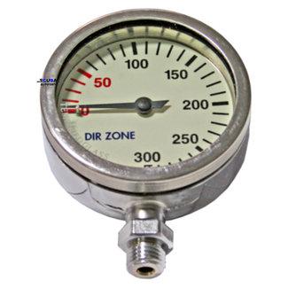 DirZone Pressure gauge 52mm 0-300 BAR