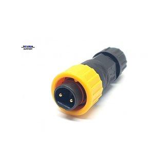 Santi Santi 4D Heating system connector Male (Yellow)