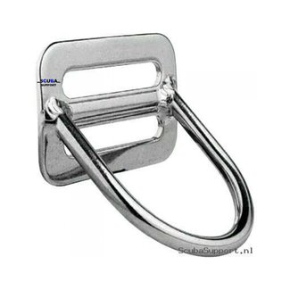 DirZone D-ring with fixed angle - Billy D-ring