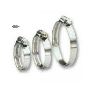 JCS Hose Clamps Hose clamp Hi-grip stainless 100mm