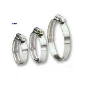 JCS Hose Clamps Hi grip hose clamp stainless steel 40-100mm