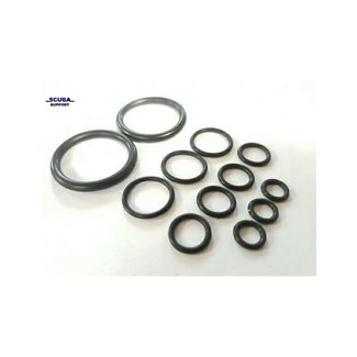Scuba Support O-ring Kit voor dubbele kraan met manifold - O2 compatible