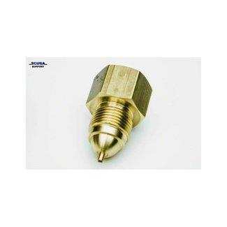 Scuba Support Zuurstof - DIN converter met pin