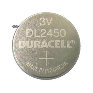 Duracell Batterij CR2450 voor duikcomputer Duracell