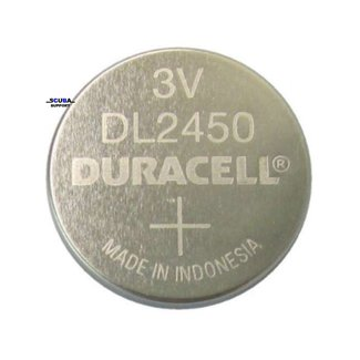 Duracell Battery CR2450 for dive computer Duracell