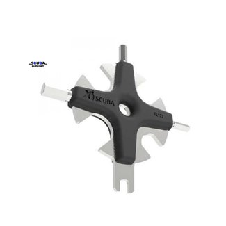 Scuba Support XS Scuba Star Tool - Stainless Steel