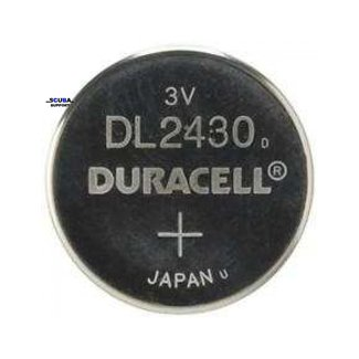 Duracell Battery CR2430 for dive computer Duracell