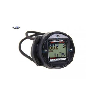 Scubapro Digital 330 Bottom Timer with bungee mount