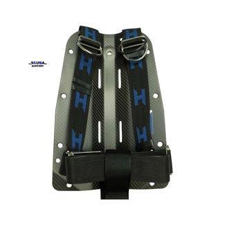 Halcyon Carbon Fiber Backplate w/ Harness & SS Hardware