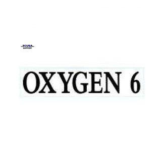 Halcyon GUE MOD Decal, each: Oxygen 6
