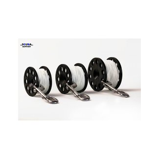 Halcyon Defender Pro 100 Safety Spool 24 Line, SS Double End Clip