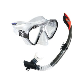 Aqua Lung Sport Snorkel Set Magelan + Atlantis GoPro Black