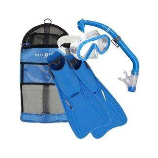 Aqua Lung Sport Santa Cruz Set Kids Blue S/M (25-31)