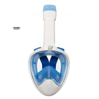 Aqua Lung Atlantis 2.0 Full Face Snorkelmask White/Blue