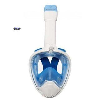 Aqua Lung Atlantis 2.0 Full Face Snorkelmasker White/Blue